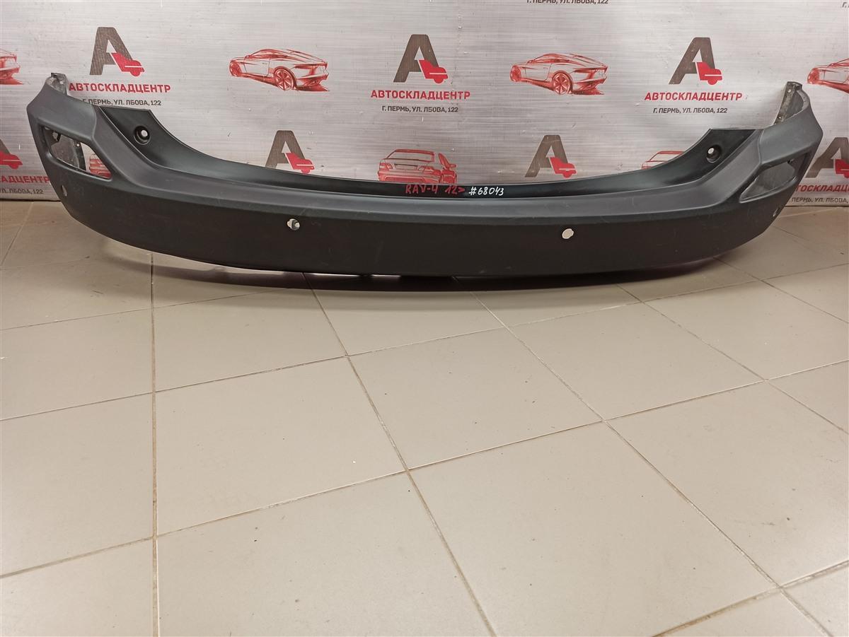 Бампер задний Toyota Rav-4 (Xa40) 2012-2019 2012