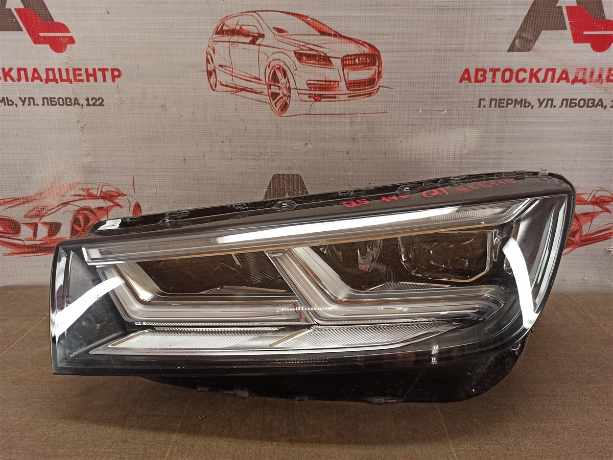 Фара левая Audi Q5 (2016-Н.в.)