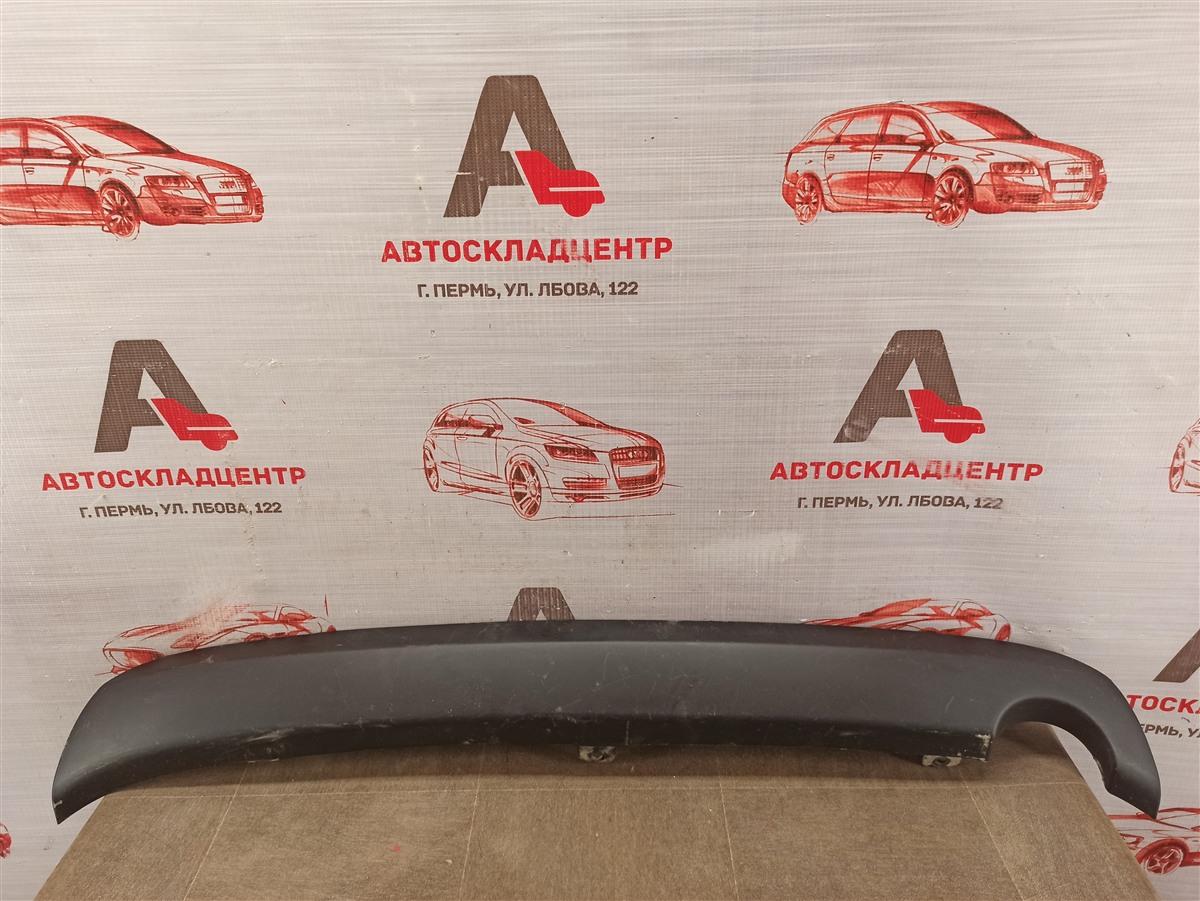 Спойлер (накладка) бампера заднего Lada Granta 2013