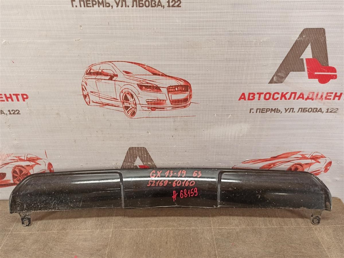 Спойлер (накладка) бампера заднего Lexus Gx460 2009-Н.в. 2013