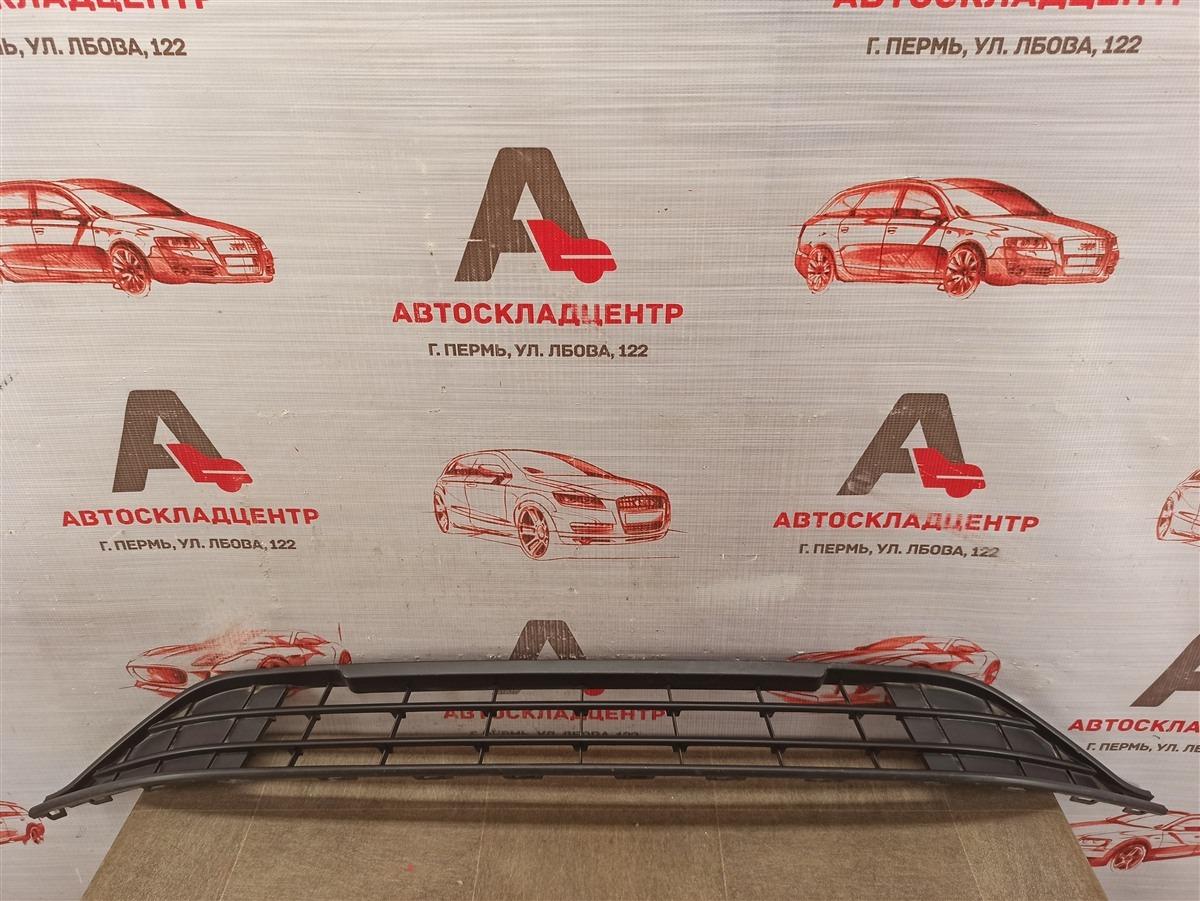 Решетка бампера переднего Volkswagen Polo (Mk6 Rus) 2020-Н.в.