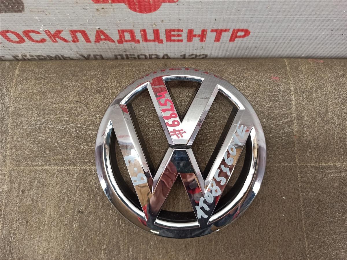 Эмблема (значок) Volkswagen Golf (Mk5) 2003-2009 передняя
