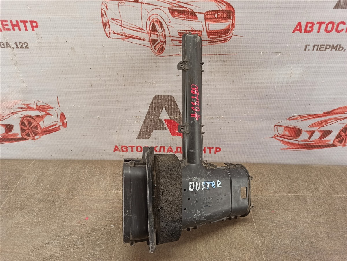 Воздухозаборник - патрубок системы впуска воздуха Renault Duster (2010-Н.в.)