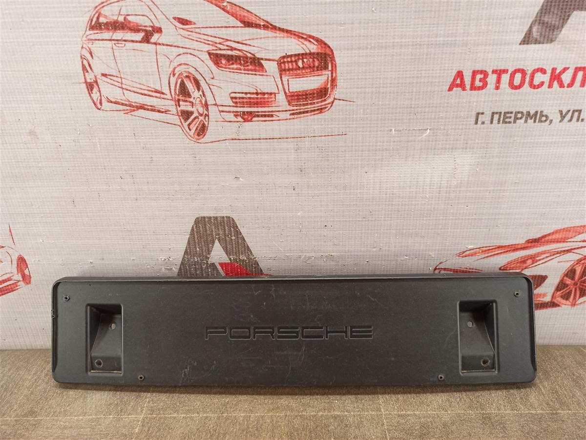 Планка (рамка) номерного знака Porsche Macan (2013-Н.в.)