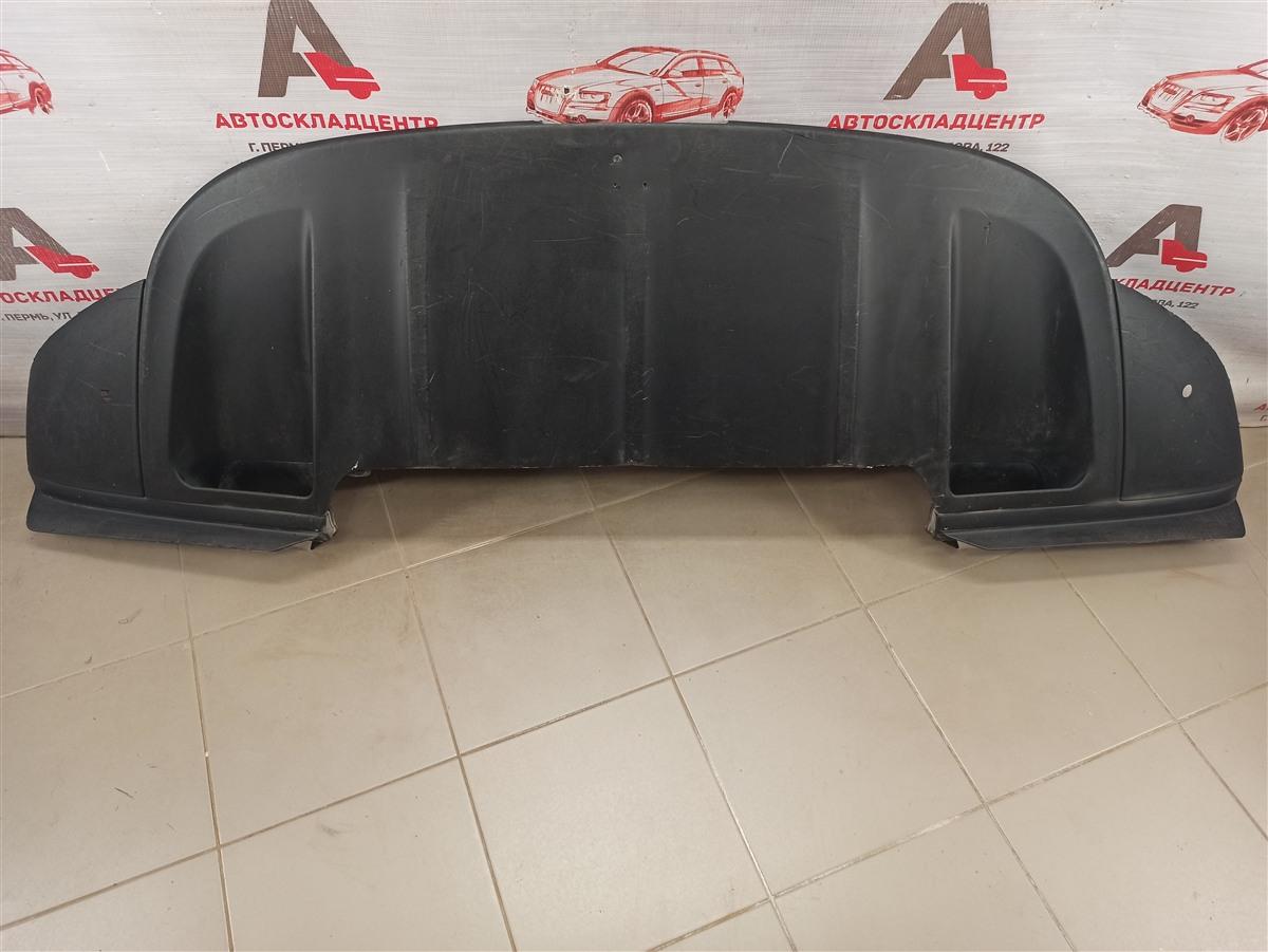 Спойлер (юбка) бампера переднего Porsche Cayenne (2010-2018) 2014