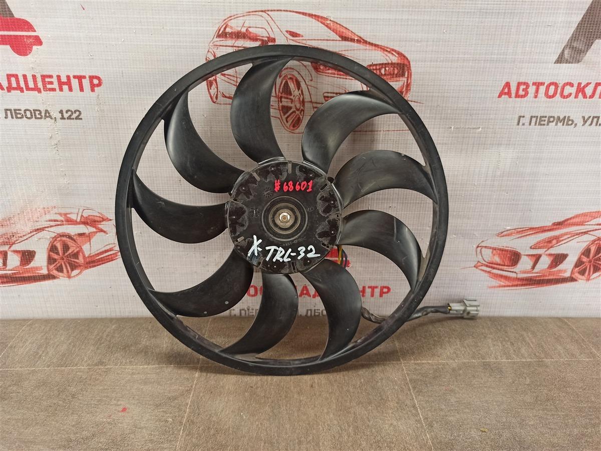 Вентилятор радиатора охлаждения - крыльчатка с мотором Nissan X-Trail (2014-Н.в.)
