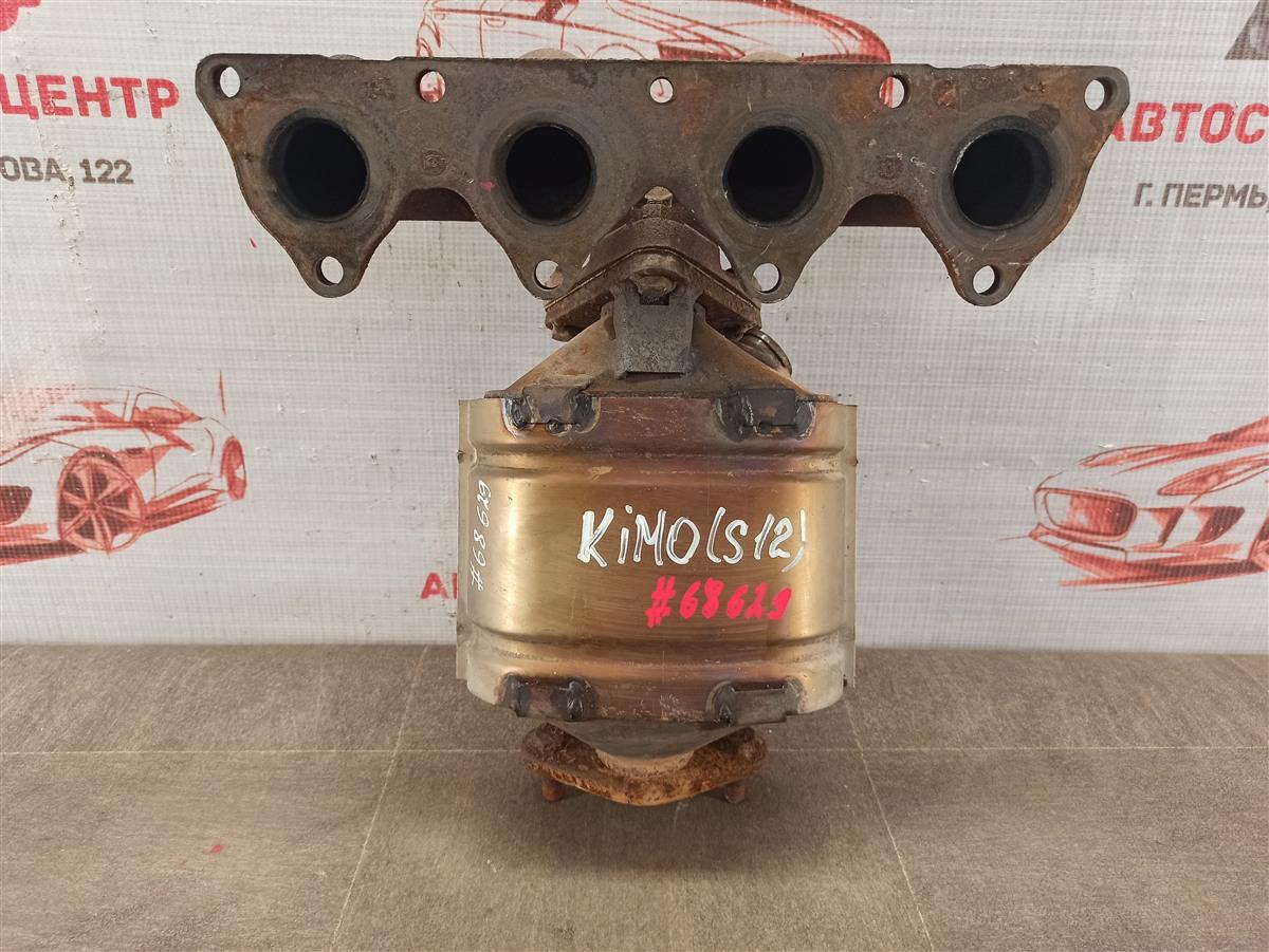 Выхлопная система - катализатор Chery Kimo A1 (2008-2015) S12 SQR473F 2008