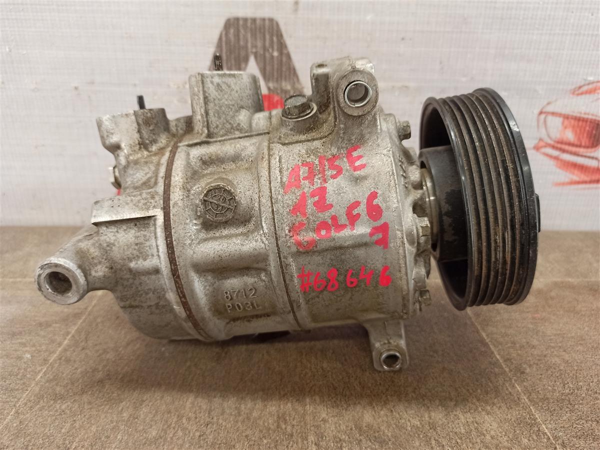 Компрессор (насос) кондиционера Audi A3 (2003-2013)