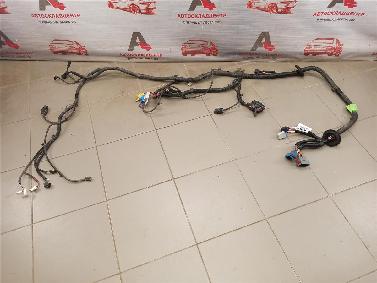 Электрика - проводка моторного отсека Lada Granta