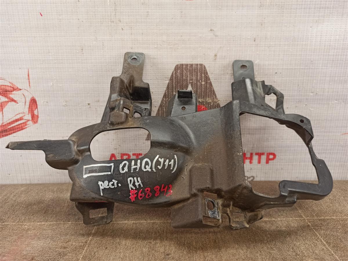 Кронштейн противотуманной фары / ходового огня Nissan Qashqai (2013-Н.в.) правый
