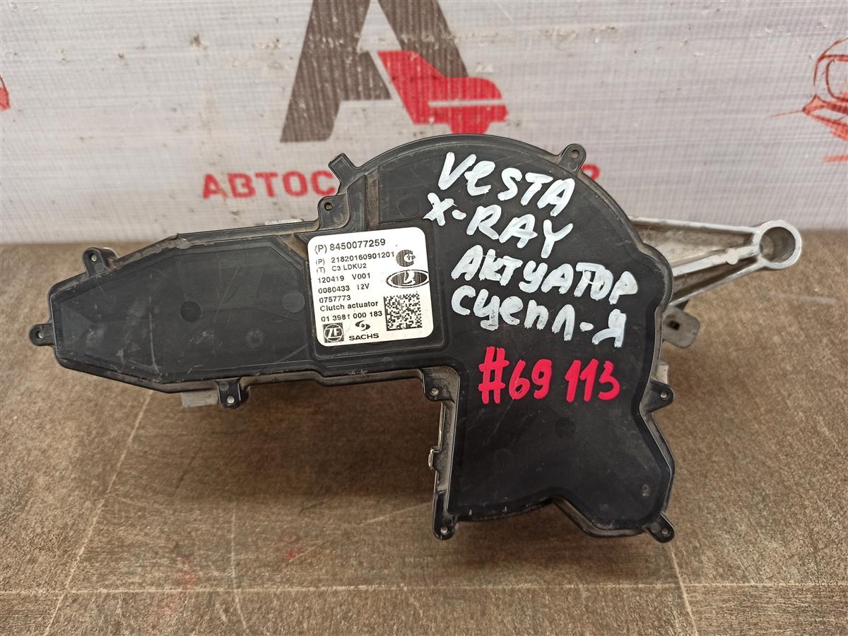 Ркпп - актуатор ( механизм переключения передач ) Lada Vesta