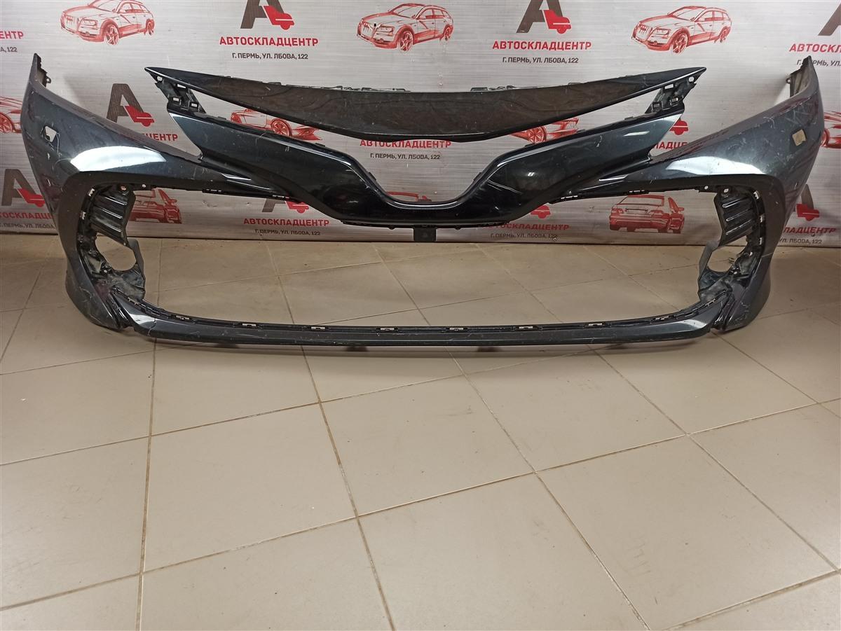 Бампер передний Toyota Camry (Xv70) 2017-Н.в.