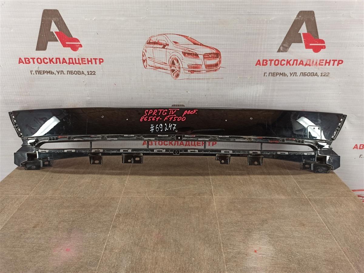 Решетка бампера переднего Kia Sportage (2016-Н.в.) 2018