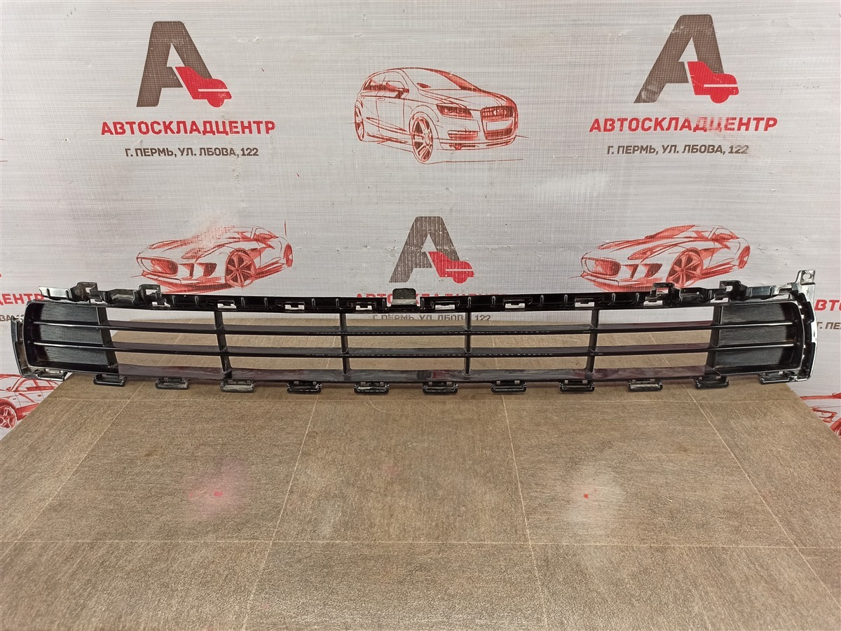 Решетка бампера переднего Kia Sportage (2016-Н.в.) 2018 нижняя