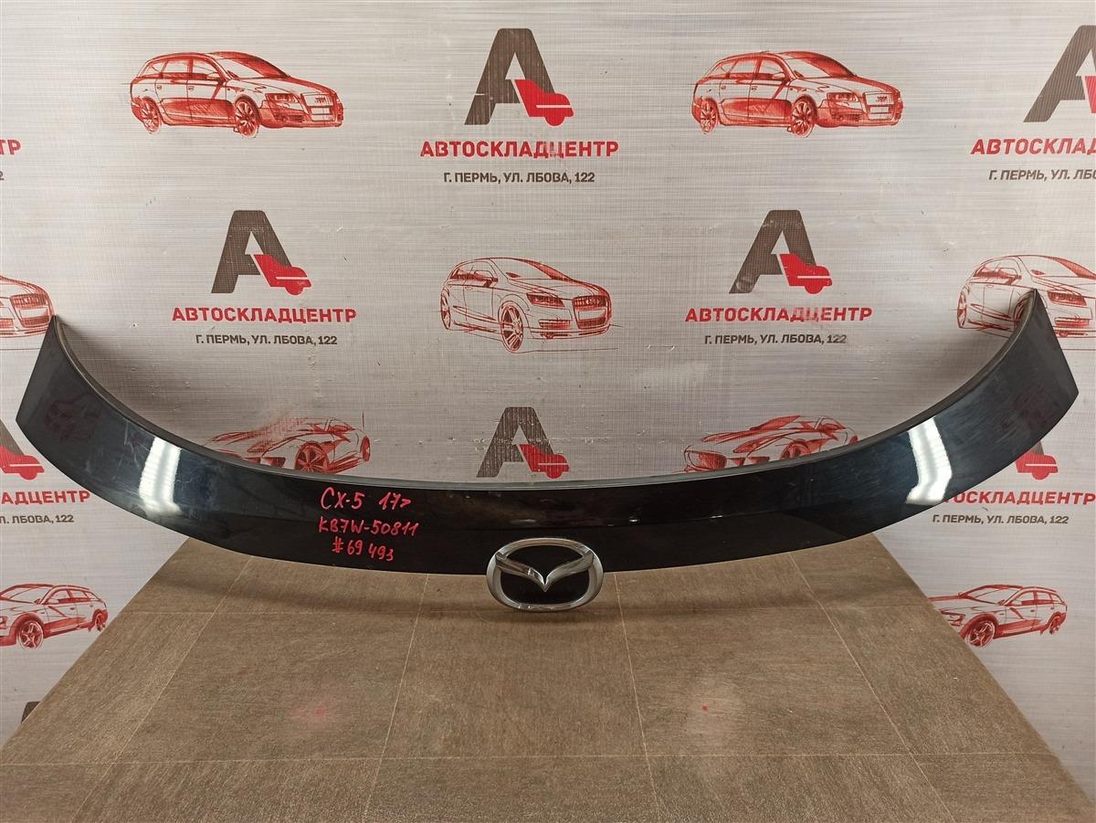 Накладка / молдинг двери багажника Mazda Cx-5 (2017-Н.в.) верхняя