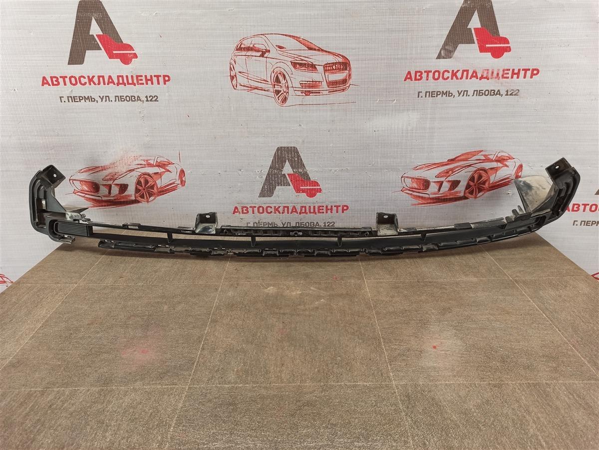 Решетка бампера переднего Kia Sportage (2016-Н.в.) 2016 верхняя