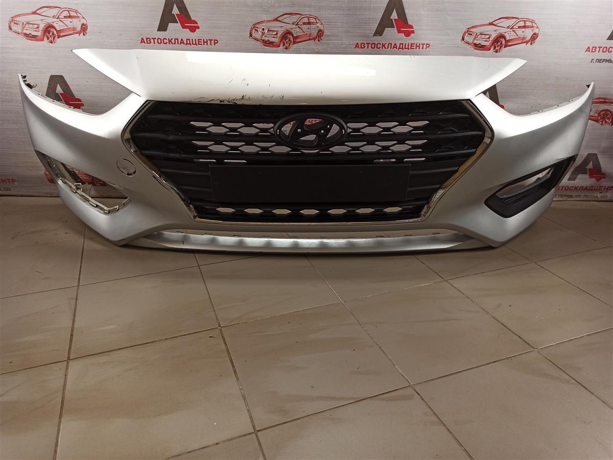 Бампер передний Hyundai Solaris (2017-Н.в.) 2017