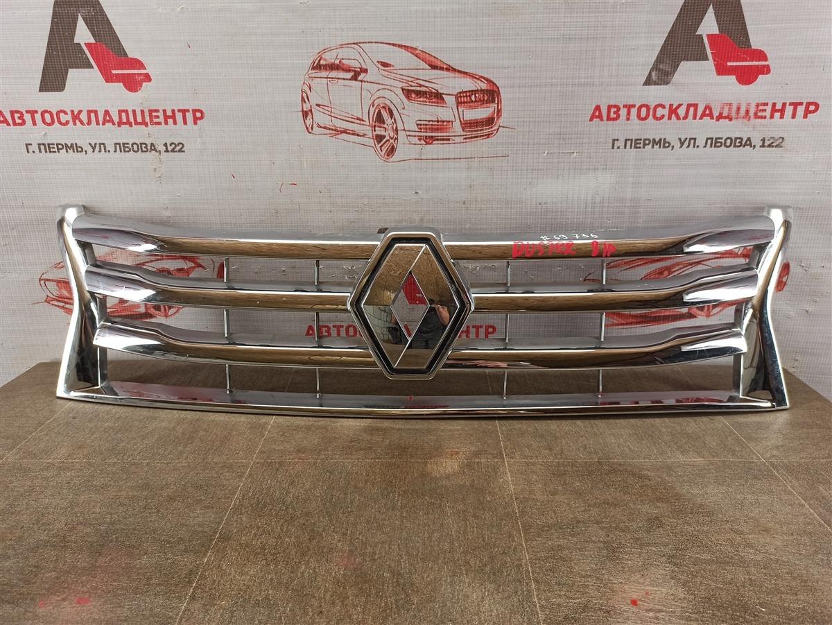 Решетка радиатора Renault Duster (2010-Н.в.) 2010