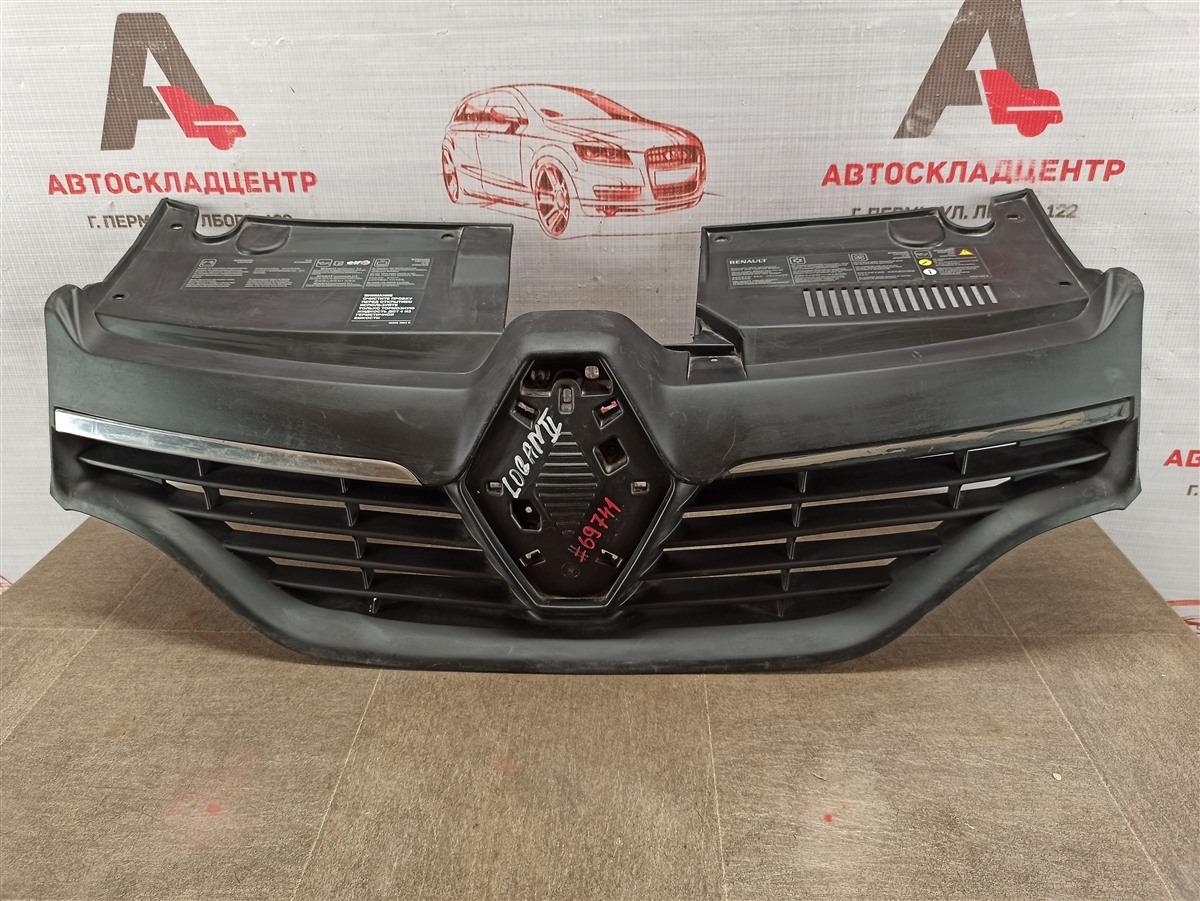 Решетка радиатора Renault Logan (2014-Н.в.) 2014