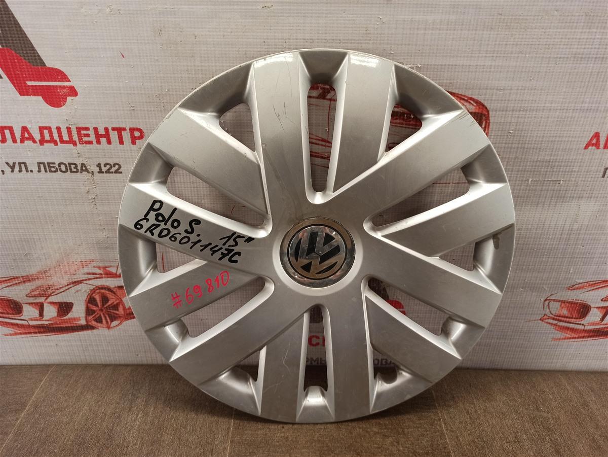 Колпак колесного диска Volkswagen Polo (Mk5) Седан 2010-2020