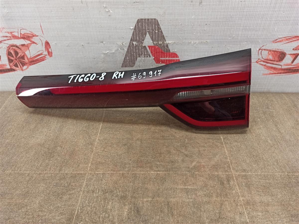 Фонарь правый - вставка в дверь / крышку багажника Chery Tiggo 8 (2019-Н.в.)