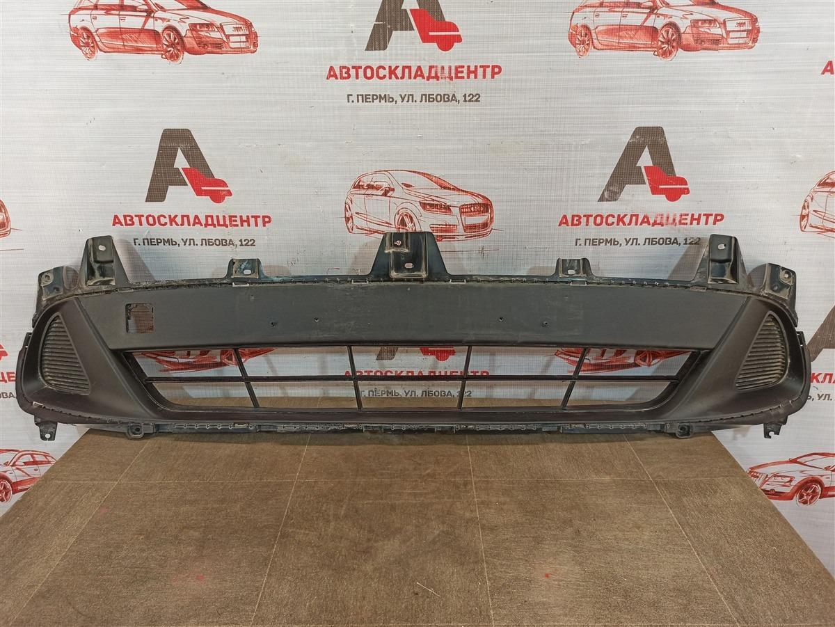 Решетка бампера переднего Kia Sorento Prime (2014-Н.в.) 2017
