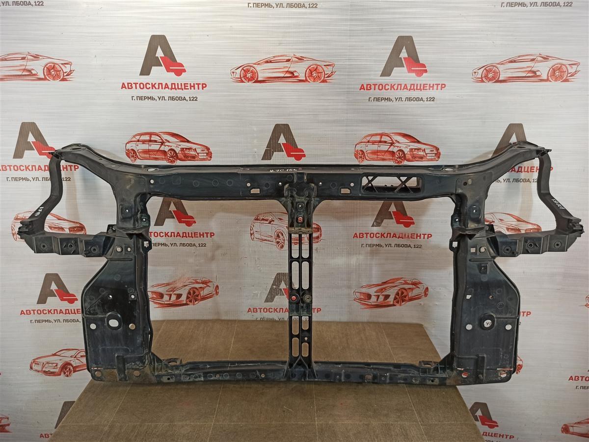 Панель передка (телевизор) - рамка радиатора Hyundai Tucson (2004-2009)