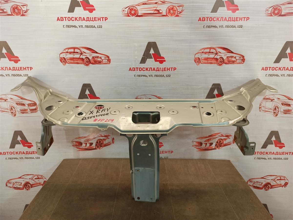 Панель передка (телевизор) - рамка радиатора Lada X-Ray