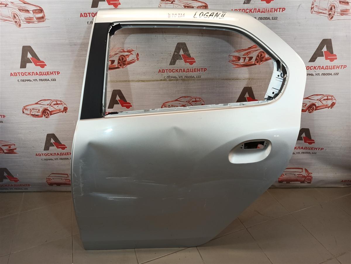 Дверь задняя левая Renault Logan (2014-Н.в.)