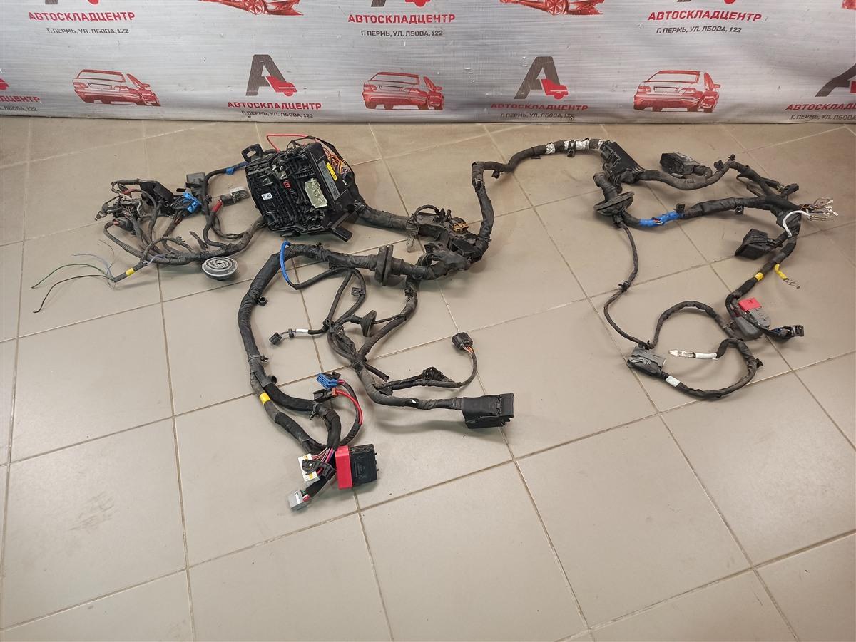 Электрика - проводка моторного отсека Hyundai Santa-Fe (2018-Н.в.)
