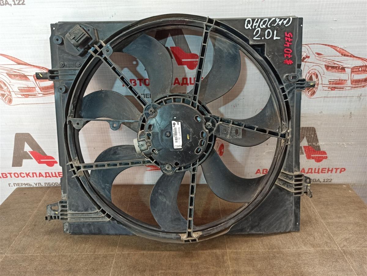 Диффузор радиатора охлаждения - в сборе Nissan Qashqai (2013-Н.в.)
