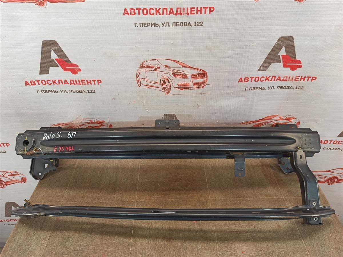 Усилитель бампера переднего Volkswagen Polo (Mk6 Rus) 2020-Н.в.