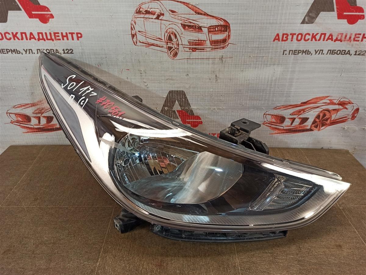 Фара правая Hyundai Solaris (2017-Н.в.)