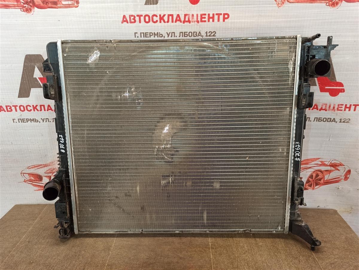 Радиатор охлаждения двигателя Nissan Qashqai (2013-Н.в.)