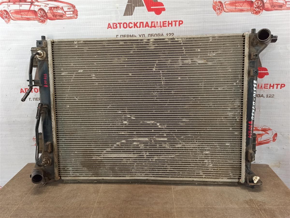 Радиатор охлаждения двигателя Hyundai Tucson (2015-Н.в.)
