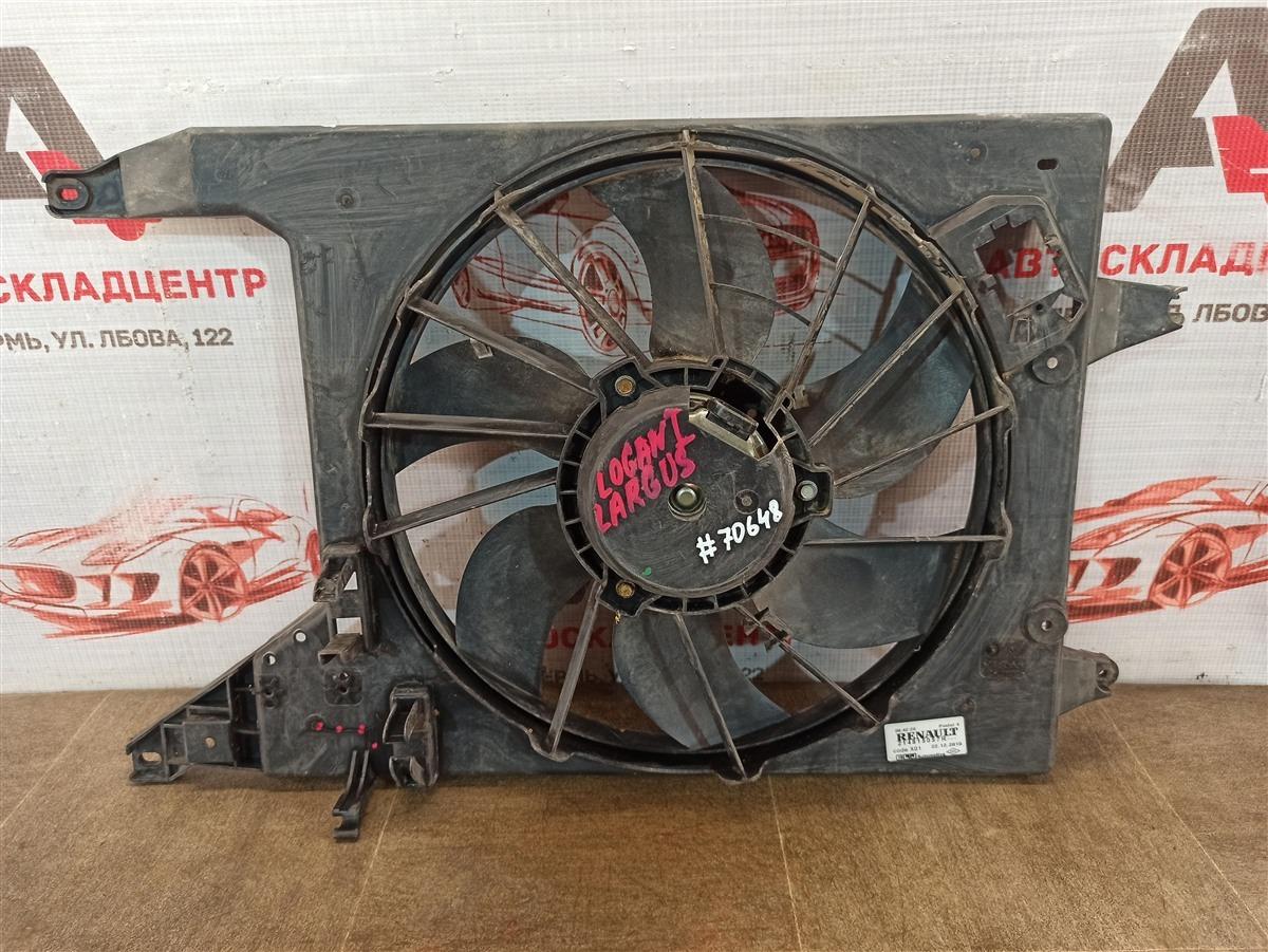 Диффузор радиатора охлаждения - в сборе Nissan Almera (2012-2019)