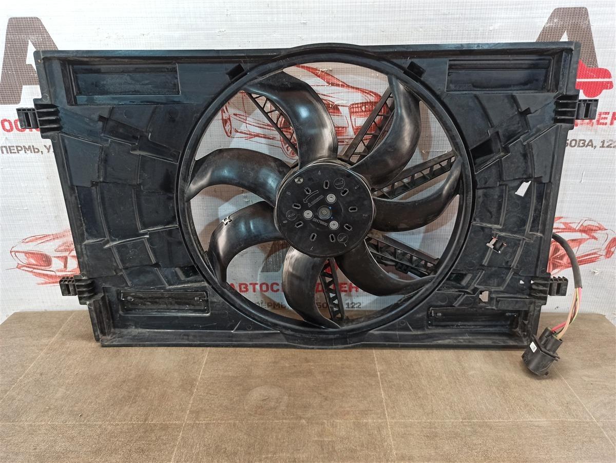 Диффузор радиатора охлаждения - в сборе Volkswagen Golf (Mk7) 2012-2019