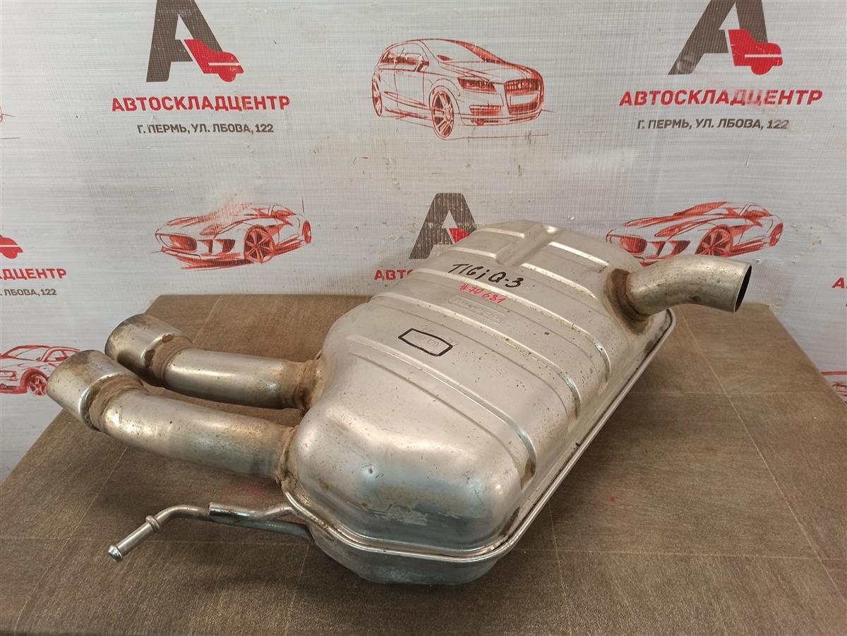 Выхлопная система - глушитель Volkswagen Tiguan (2007-2017)