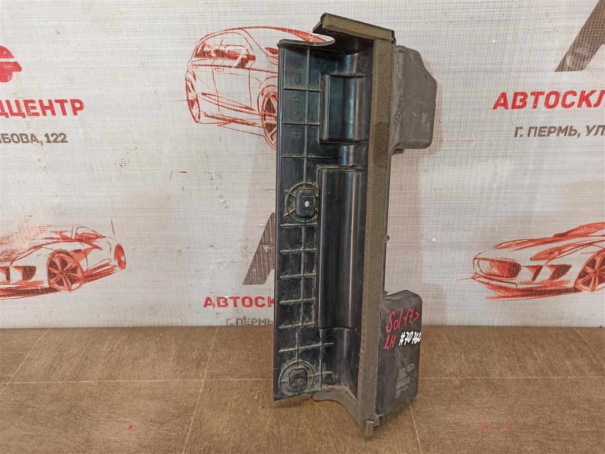Дефлектор воздушного потока основного радиатора Hyundai Solaris (2017-Н.в.)