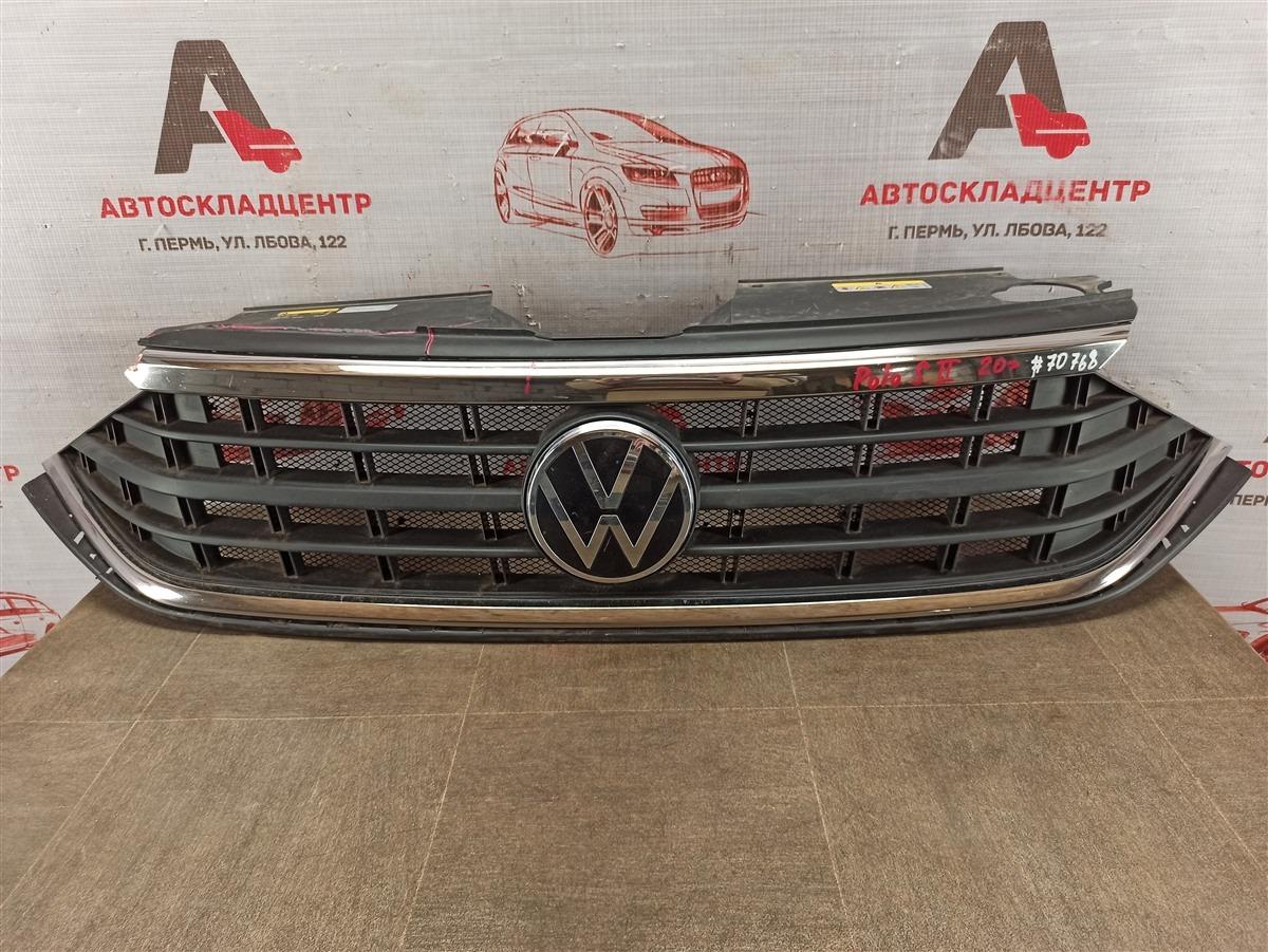 Решетка радиатора Volkswagen Polo (Mk6 Rus) 2020-Н.в.