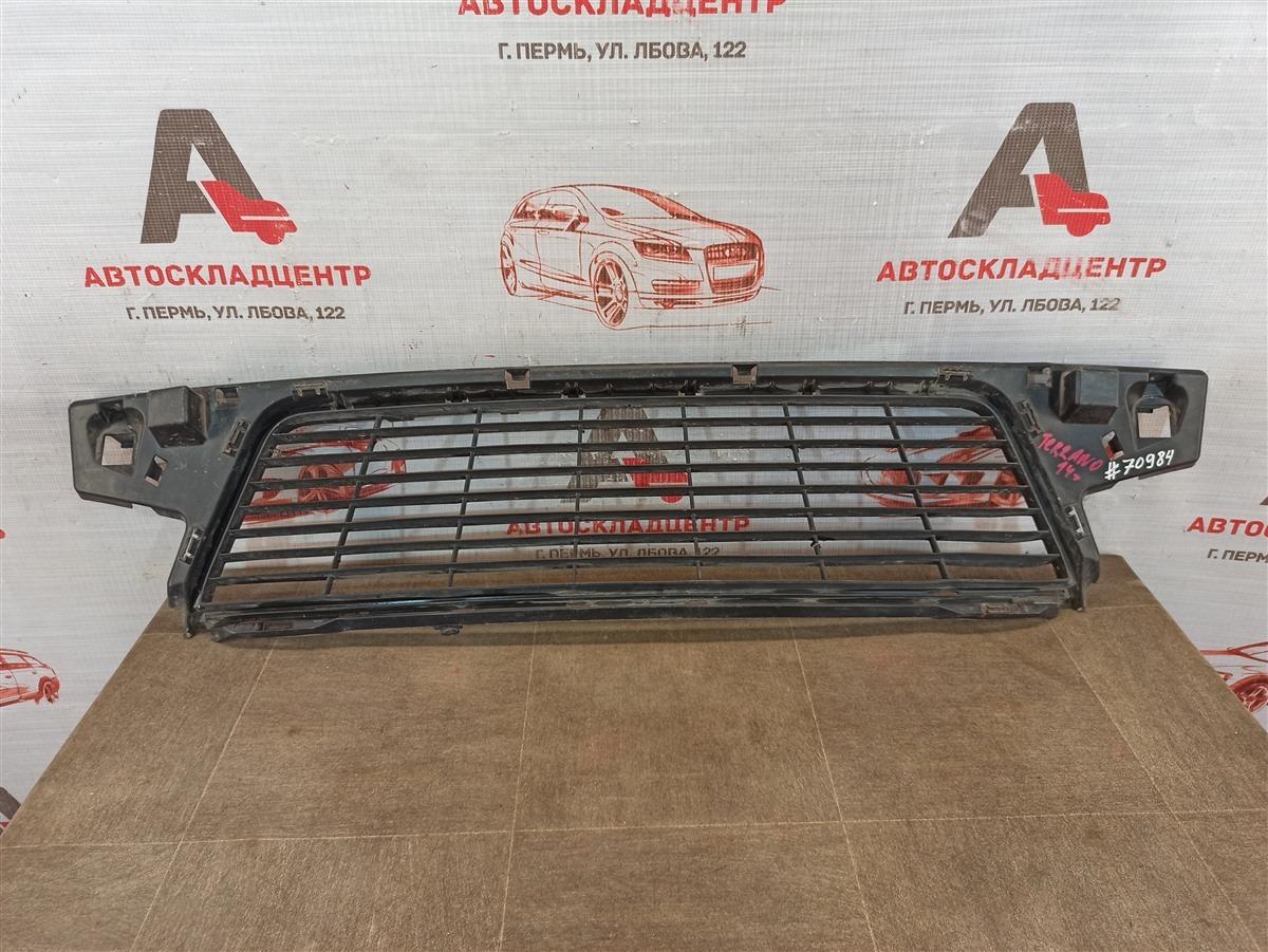 Решетка бампера переднего Nissan Terrano (2014-Н.в.)