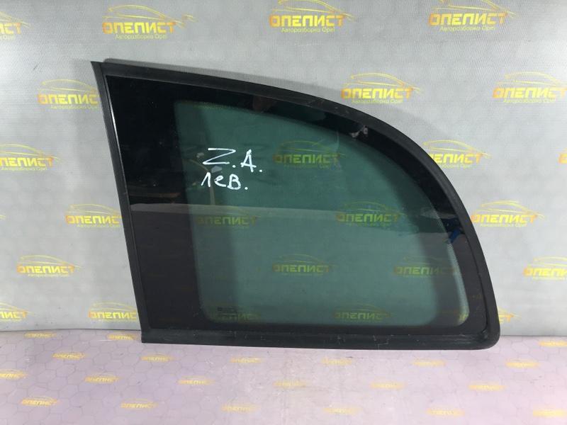 Стекло боковое заднее левое Opel Zafira A 90579311 Б/У