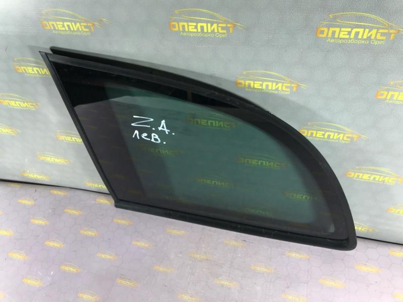Стекло боковое заднее левое Opel Zafira A
