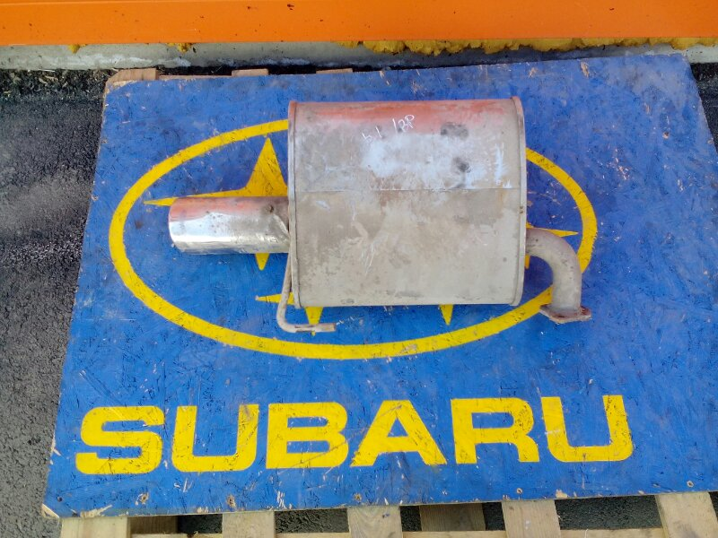 Глушитель Subaru Legacy Wagon BP5 EJ20X 2003 левый