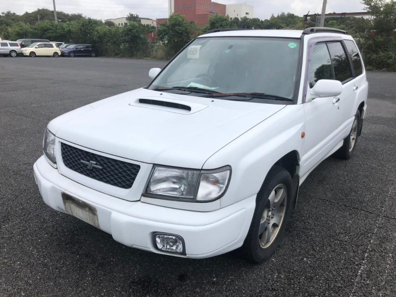 Зеркало Subaru Forester SF5 EJ20G 1998 правое