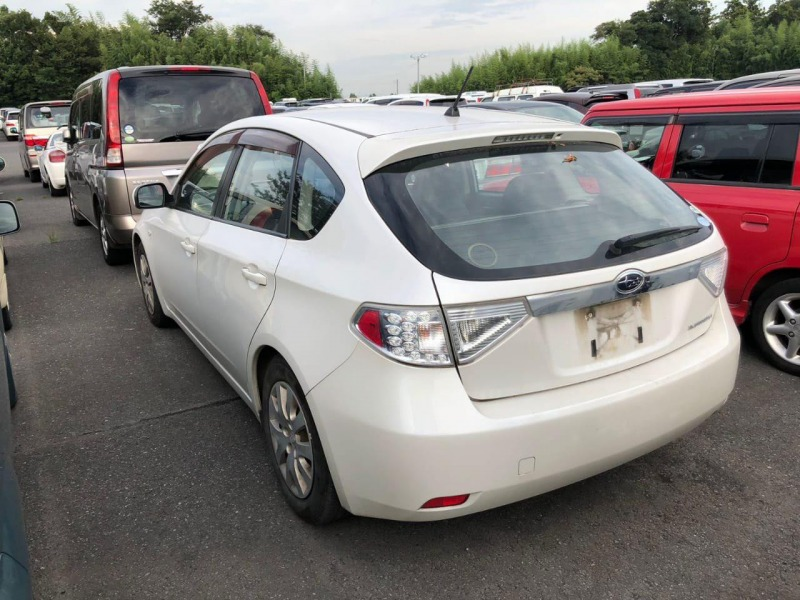 Рычаг подвески Subaru Impreza GH2 EL15 2007 задний левый