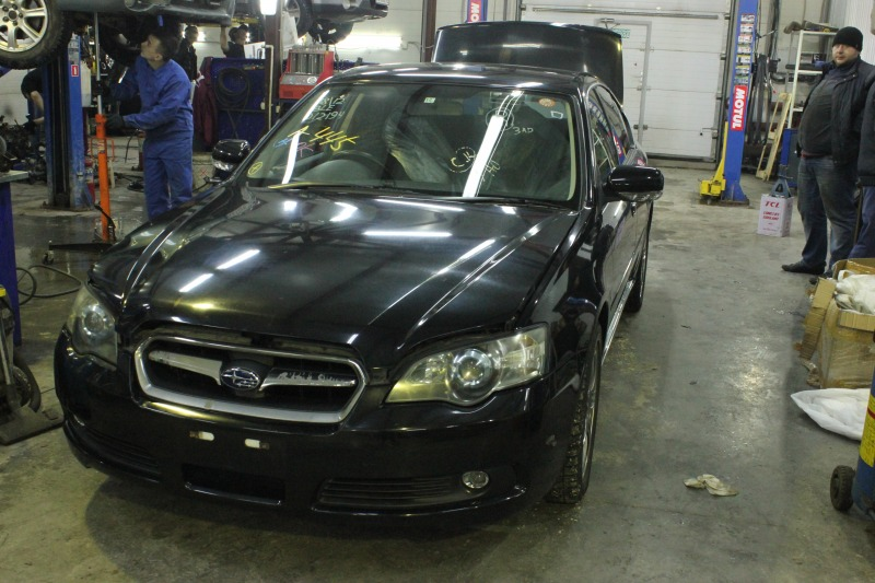 Суппорт Subaru Legacy B4 BLE EZ30D 2004 задний правый