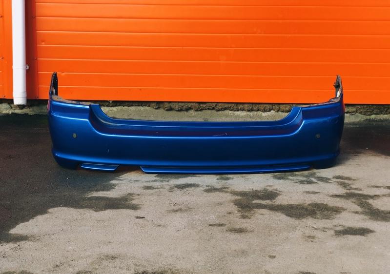 Бампер Subaru Forester SG5 EJ205 2006 задний