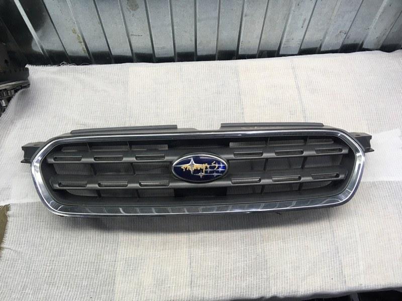 Решетка радиатора Subaru Outback BP9 EJ253 2004 передняя