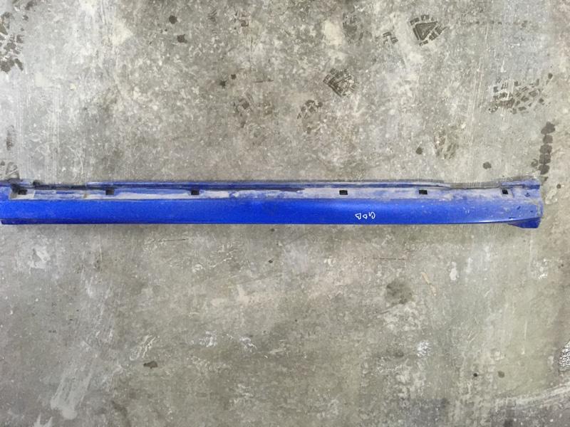 Порог пластиковый Subaru Impreza Wrx Sti GDB EJ207 2003 левый